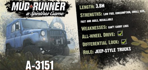xbox one spintires mudrunner mods spintires mods. Black Bedroom Furniture Sets. Home Design Ideas
