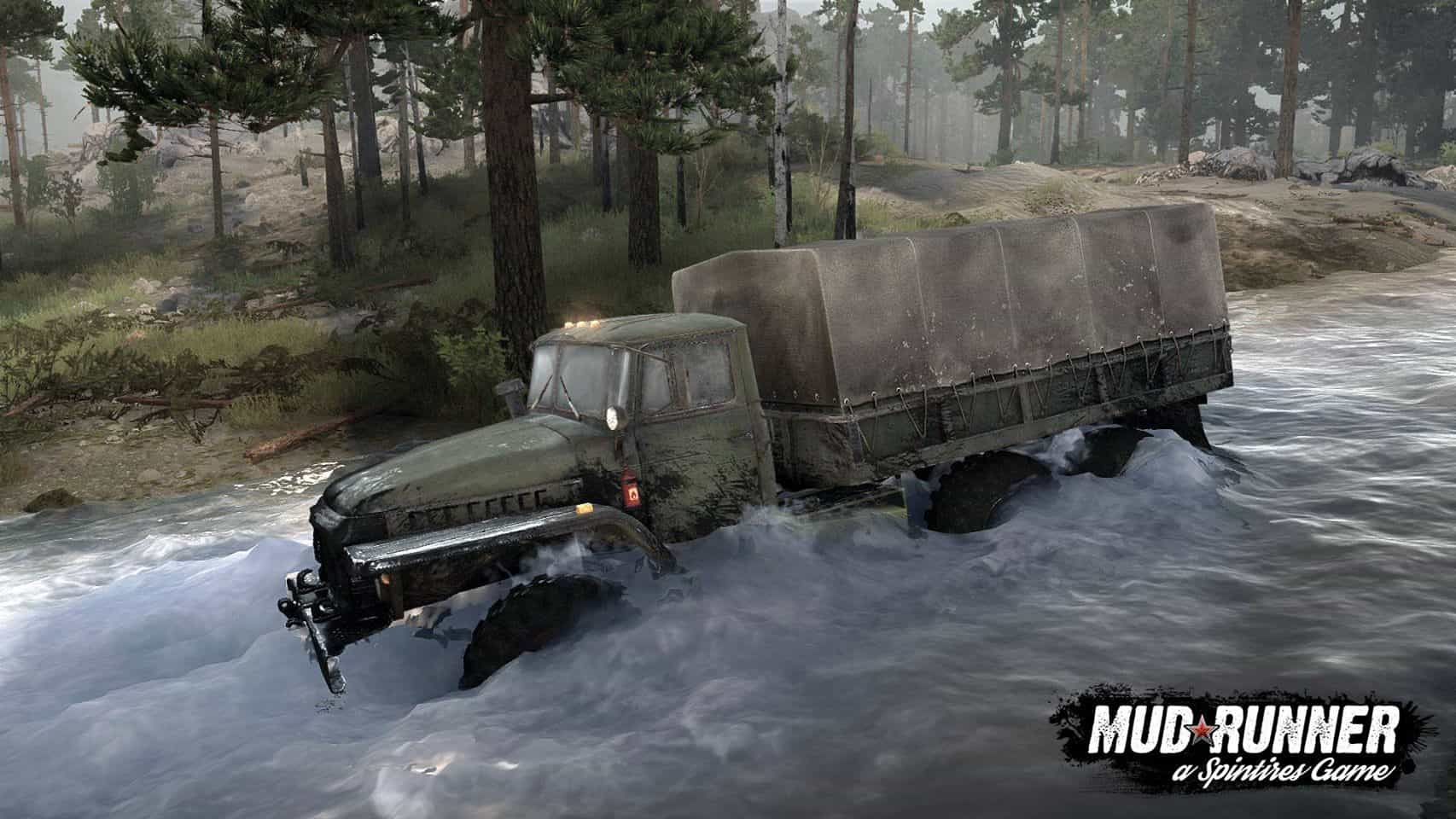 spintires  mudrunner - introducing the c-375