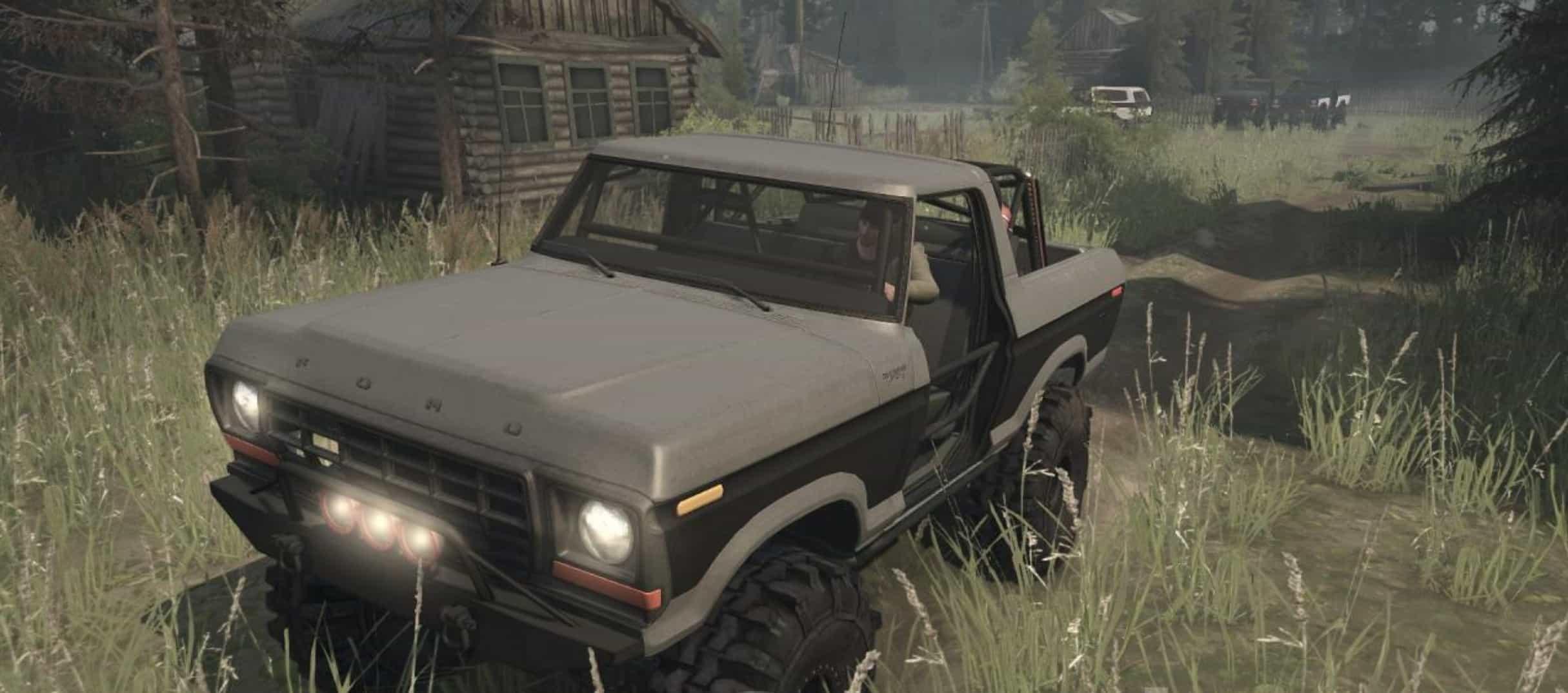 Ford Bronco Custom 1978 v09.12.17 - Spintires: MudRunner Mod