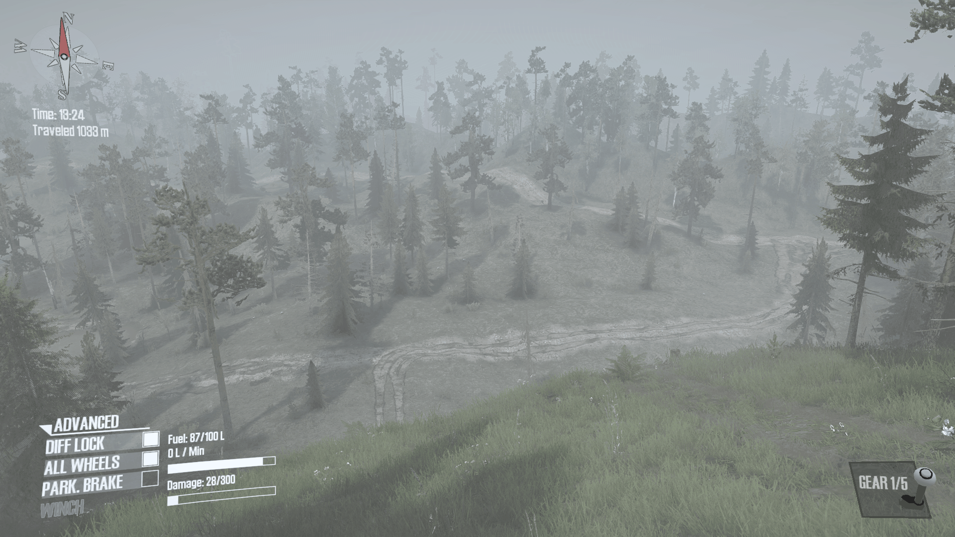 Scenic Adventure Map Spintires Mudrunner Mod