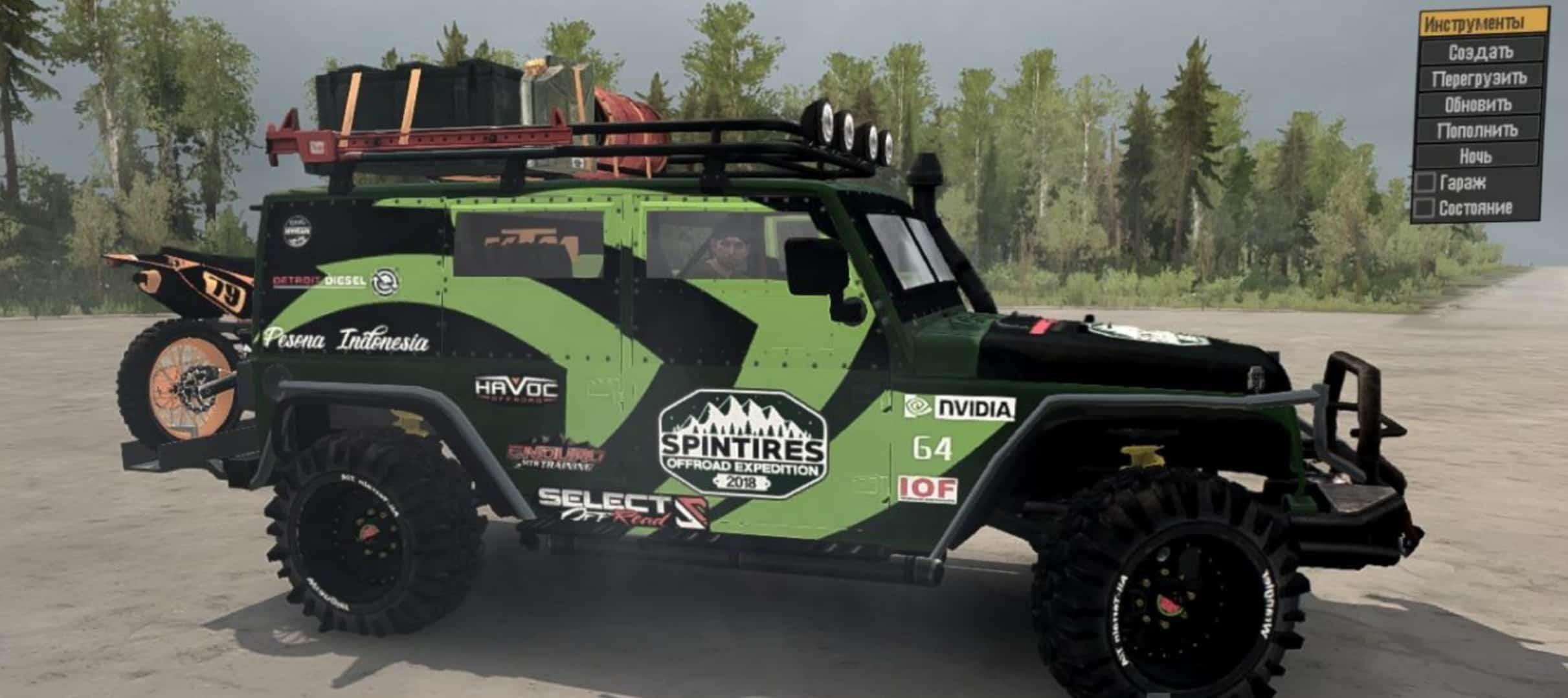 Jeep Wrangler Diesel >> Jeep Wrangler Diesel V30 01 18 Spintires Mudrunner Mod