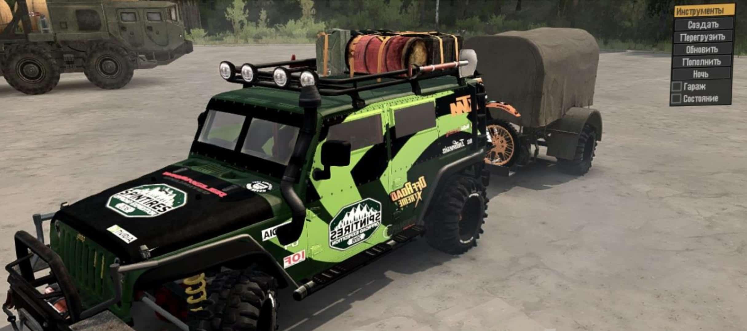 Jeep Wrangler Diesel v30 01 18 Spintires MudRunner Mod