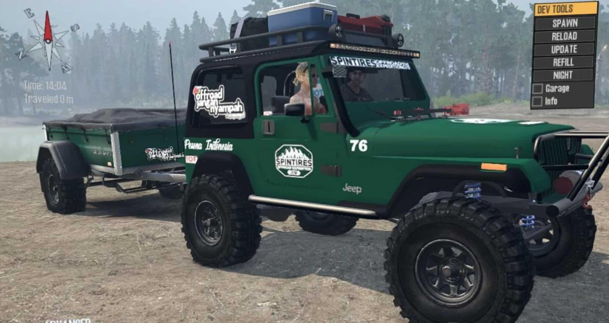 Jeep Wrangler Yj Opentop  U0026 Hardtop V2