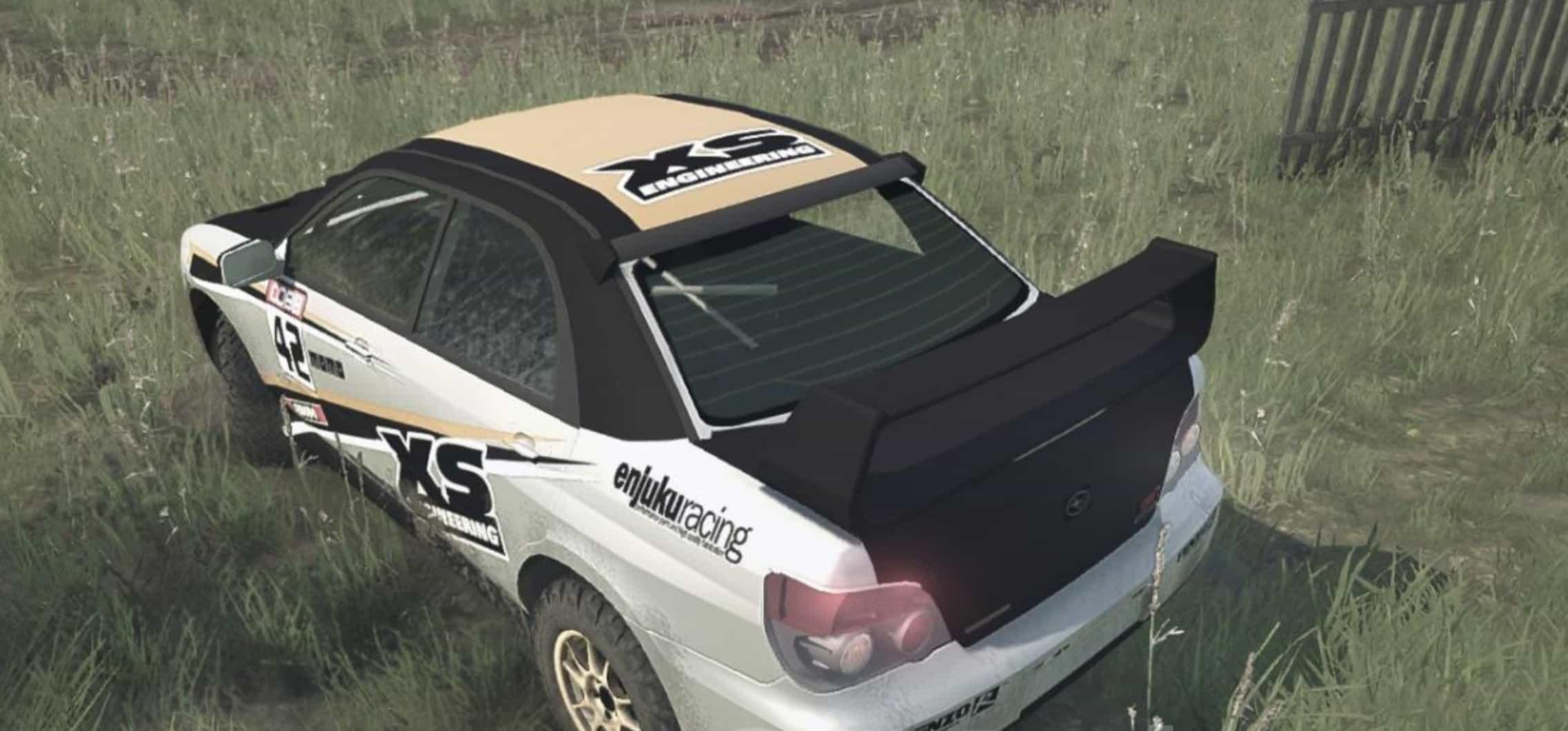Subaru WRX STi 2007 Rally Car v08.04.18 - Spintires: MudRunner Mod