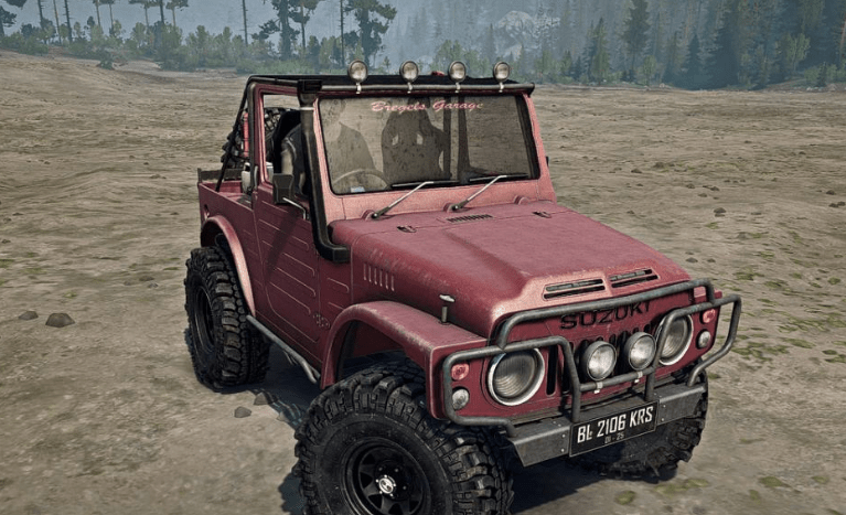 suzuki lj 80 jangkrik spintires mudrunner mod. Black Bedroom Furniture Sets. Home Design Ideas
