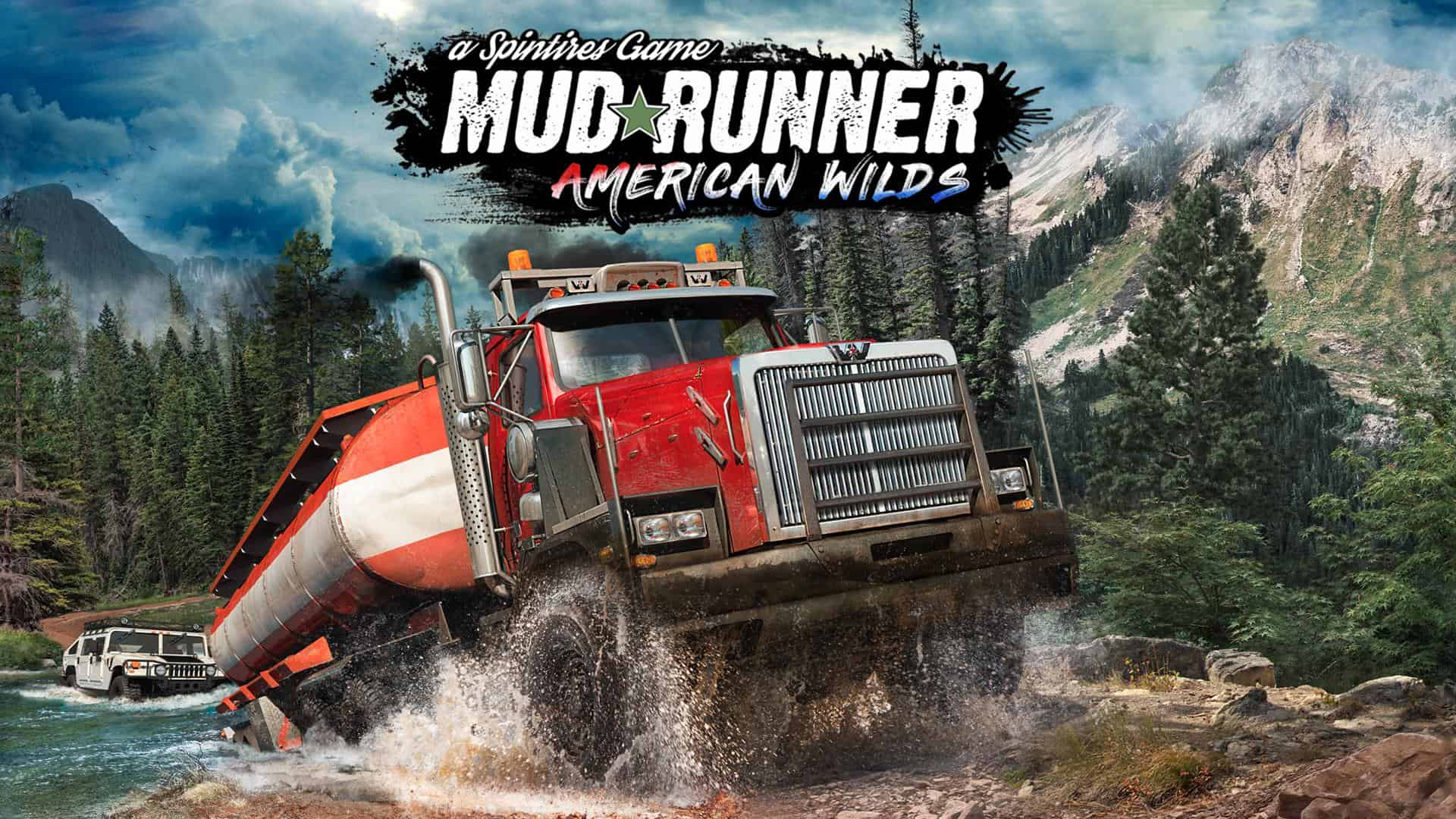 spintires mudrunner american wilds dlc american wilds. Black Bedroom Furniture Sets. Home Design Ideas
