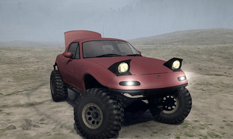 Mazda Miata 4x4 Offroad V103018 Spintires Mudrunner Mod