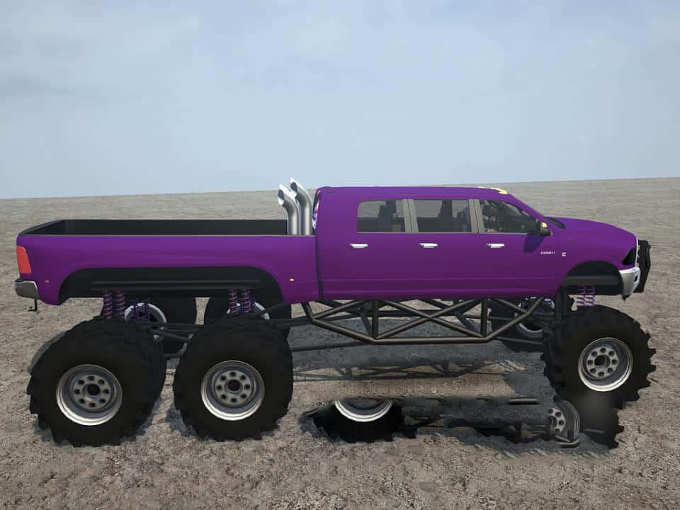 Megalodon 6 Door 6x6 Dodge Ram V05 02 19 Spintires Mudrunner Mod