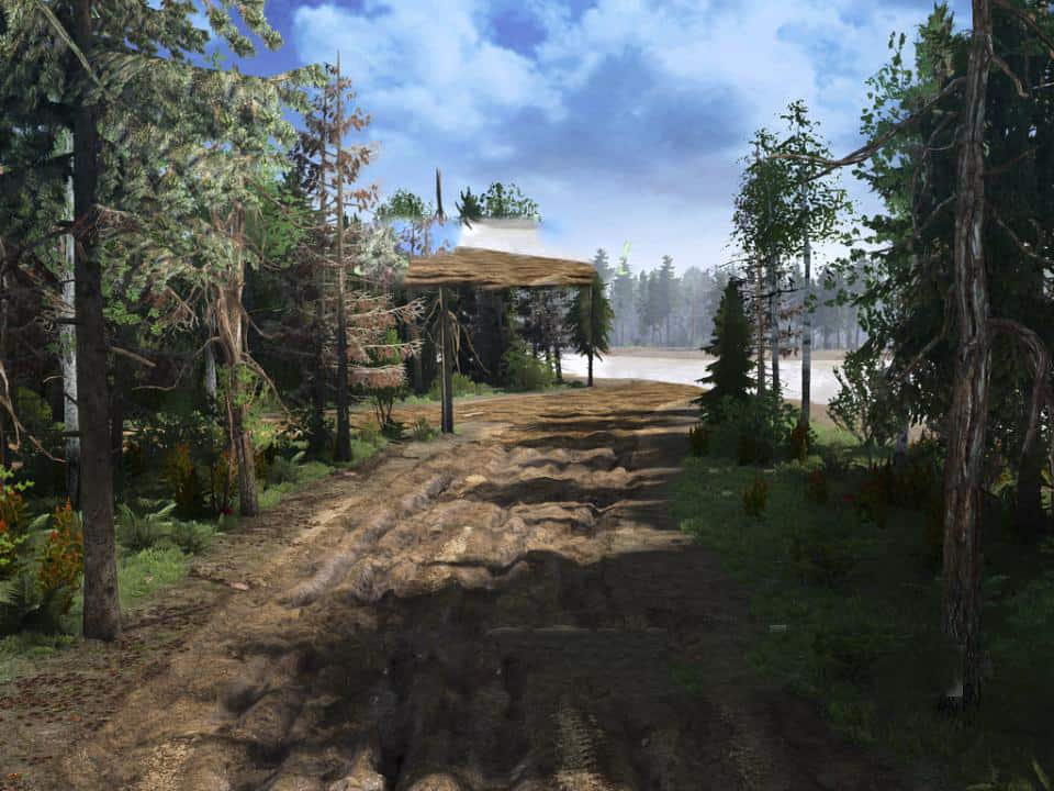 In The Forest Map v1.0 - Spintires: MudRunner Mod The Forest Game Map on