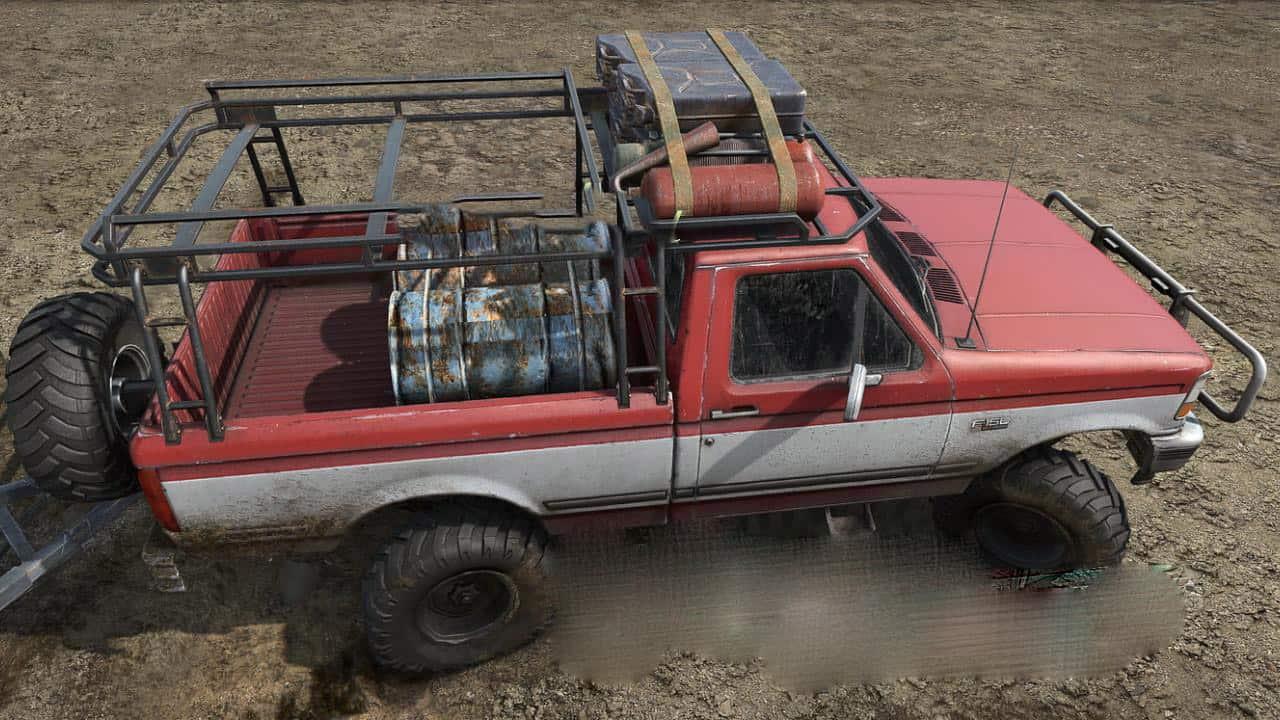 Ford F150 1992 Mod V1 0 Mudrunner Snowrunner Spintires