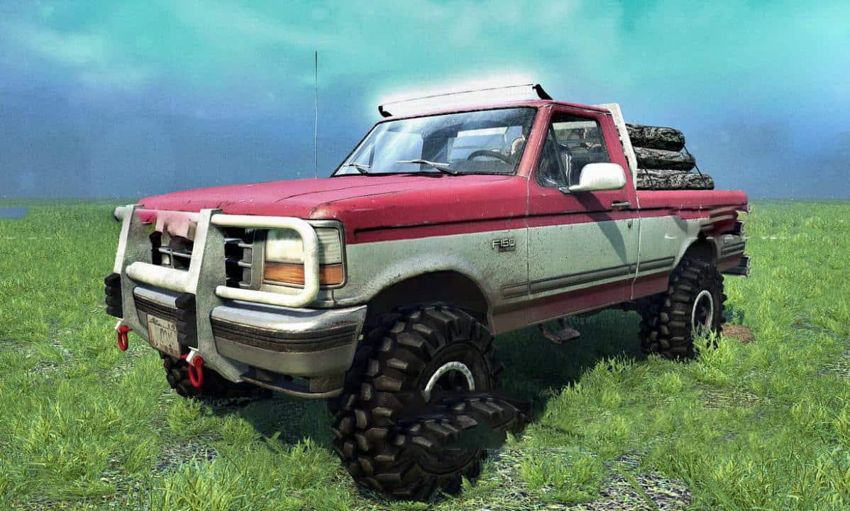 1992 Ford F150 Ol Red Mkii V1 0 Mudrunner Snowrunner Spintires