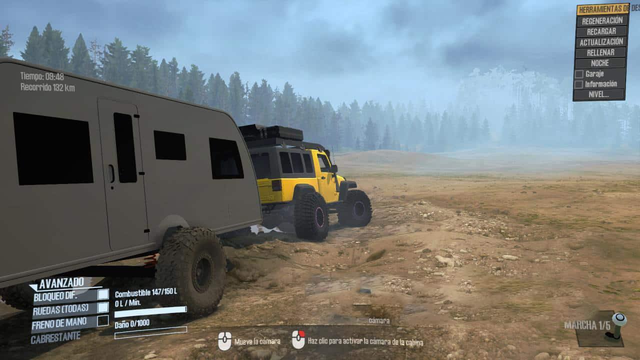 Jeep Jkl Renegade Overland Mod V1 0 Mudrunner Snowrunner Spintires